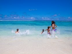 Our secluded beach on the Indian Ocean also provides shadows of Badamier and coconut trees next to calm waters. A good spot for children.
