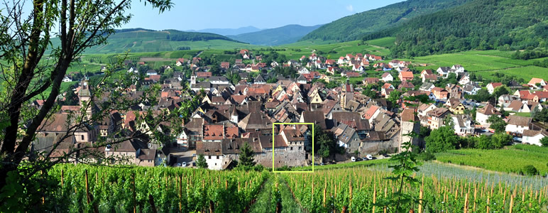 New luxury holiday gites in the medieval rampart facing the vineyards in Riquewihr, Alsace France